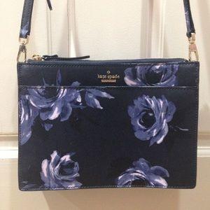 HP🎉 NWOT Kate Spade Night Rose Flower Crossbody
